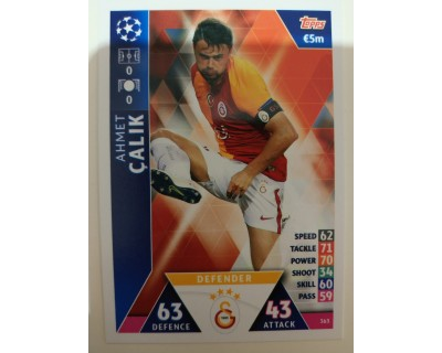 Macht Attax Champions League 2019 CALIK Nº 363