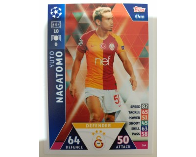 Macht Attax Champions League 2019 NAGATOMO Nº 364