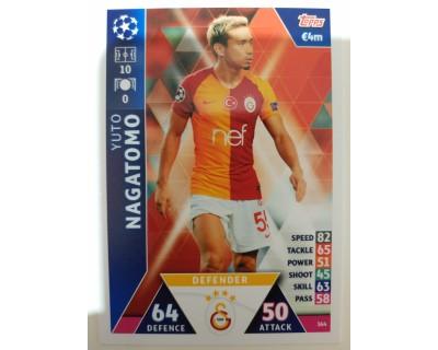 Macht Attax Champions League 2019 NAGATOMO Nº 364