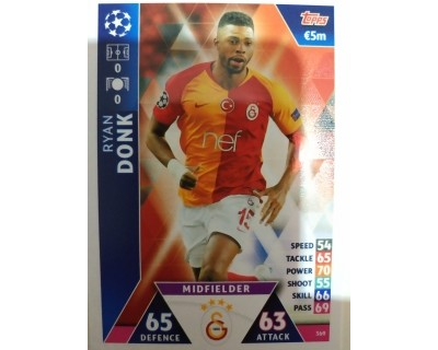 Macht Attax Champions League 2019 DONK Nº 369