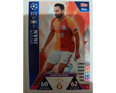Macht Attax Champions League 2019 INAN Nº 370