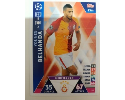 Macht Attax Champions League 2019 BELHANDA Nº 373