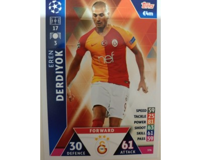 Macht Attax Champions League 2019 DERDIYOK Nº 376