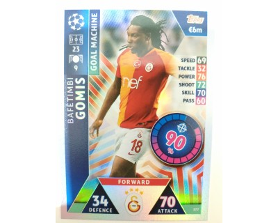 Macht Attax Champions League 2019 GOMIS Nº 377 GOAL MACHINE
