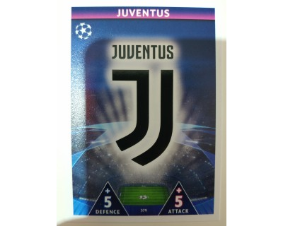 Macht Attax Champions League 2019 ESCUDO Nº 379