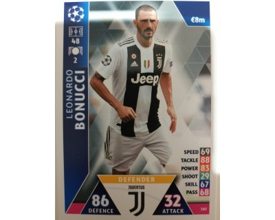 Macht Attax Champions League 2019 BONUCCI Nº 385