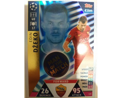 Macht Attax Champions League 2019 DZECO Nº 410 MAN OF THE MATCH