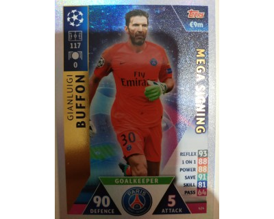 Macht Attax Champions League 2019 BUFFON Nº 424 MEGA SIGNING