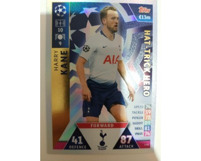 Macht Attax Champions League 2019 KANE Nº 440 HAT-TRICK HERO