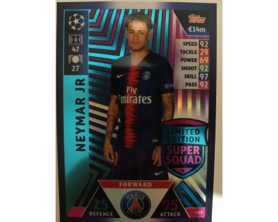Macht Attax Champions League 2019 NEYMAR JR Nº 13 LIMITED