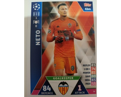Macht Attax Champions League 2019 NETO Nº 56