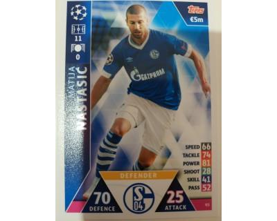 Macht Attax Champions League 2019 NASTASIC Nº 93