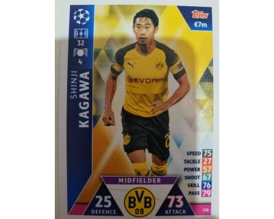 Macht Attax Champions League 2019 KAGAWA Nº 136