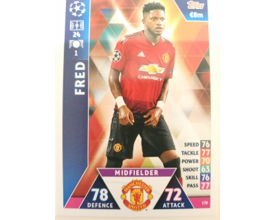 Macht Attax Champions League 2019 FRED Nº 170