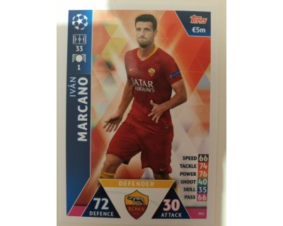 Macht Attax Champions League 2019 MARCANO Nº 242