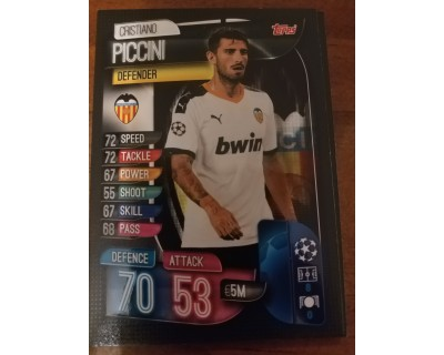 Machs Attax Uefa Champions League 2019/2020 VAL 5