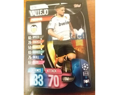 Machs Attax Uefa Champions League 2019/2020 VAL 12