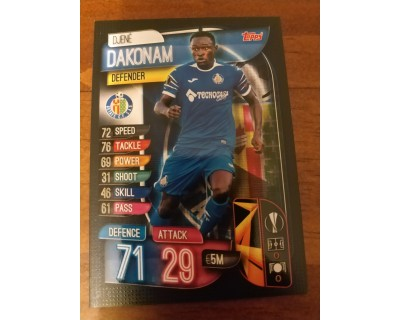 Machs Attax Uefa Champions League 2019/2020 GET 4