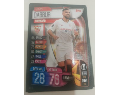 Machs Attax Uefa Champions League 2019/2020 SEV 10