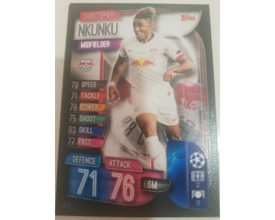 Machs Attax Uefa Champions League 2019/2020 LEI 8