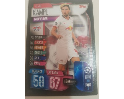 Machs Attax Uefa Champions League 2019/2020 LEI 9