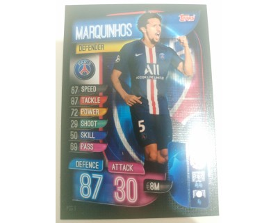 Machs Attax Uefa Champions League 2019/2020 PSG 3
