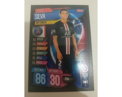 Machs Attax Uefa Champions League 2019/2020 PSG 4