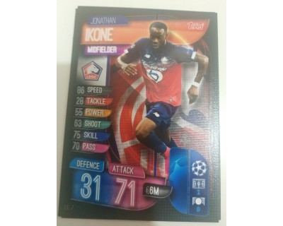 Machs Attax Uefa Champions League 2019/2020 LIL 7