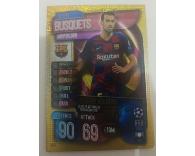 Match Attax UEFA Champions League 2019/2020 RH 4