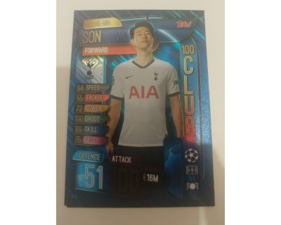Match Attax Uefa Champions League 2019/2020 CLU10