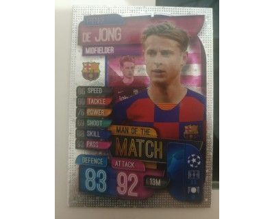 Match Attax UEFA Champions League 2019/2020 M 1