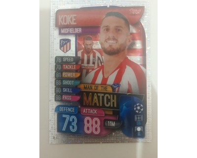 Match Attax UEFA Champions League 2019/2020 M 2