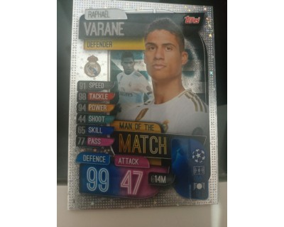 Match Attax UEFA Champions League 2019/2020 M 3