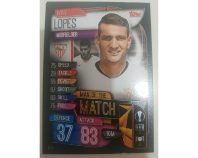 Match Attax UEFA Champions League 2019/2020 M 6