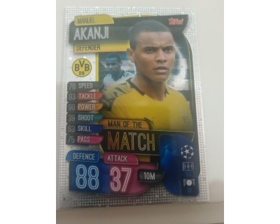 Match Attax UEFA Champions League 2019/2020 M 11