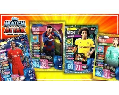 Match Attax Uefa Champions League 2020 COLECCION COMPLETA CON LIMITADAS