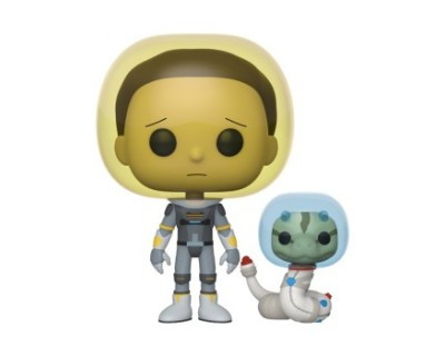 Funko POP! Rick & Morty - Space Suit Morty w/Snake