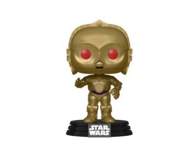 Funko POP! Star Wars Rise of Skywalker - C-3PO (Red Eyes) (MT)