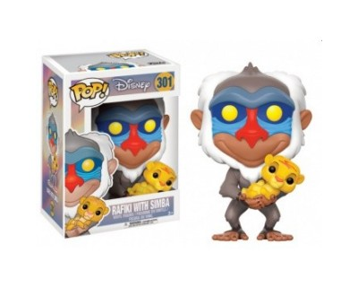 Funko POP! Disney The Lion King - Rafiki with Simba