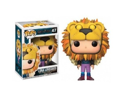 Funko POP! Movies Harry Potter - Lion Head Luna