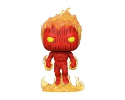 Funko POP! Fantastic Four - Human Torch
