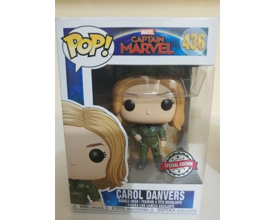 Funko POP! Captain Marvel: CAROL DANVERS - SPECIAL EDITION
