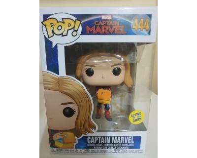 Funko POP! Captain Marvel: Captain Marvel Glows in the Dark