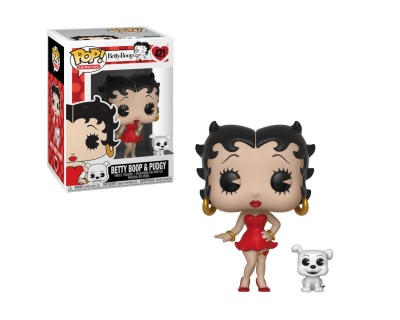 Funko POP! Animation: Betty Boop - Betty Boop & Pudgy