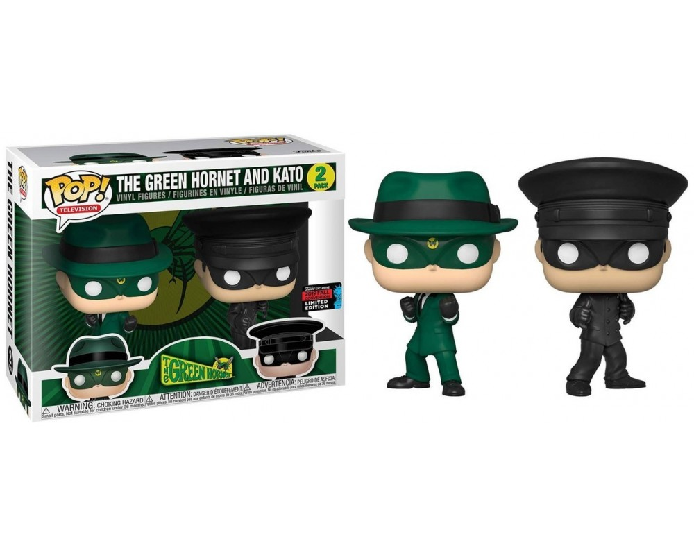 Funko POP! TV The Green Hornet & Kato Exclusive 2019 FALL CONVENTION