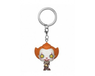 Funko POP! Keychain IT: Chapter 2 - Pennywise w/ Beaver Hat