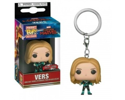 Funko POP! Keychain Captain Marvel - Vers SPECIAL EDITION