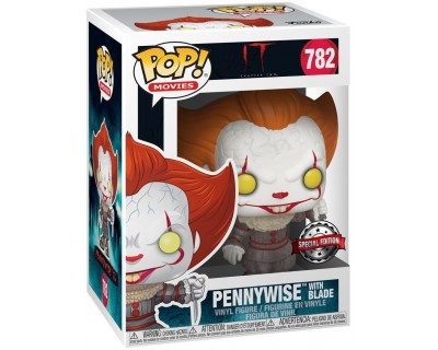 Funko POP! IT - PENNYWISE WHIT BLADE 782 SPECIAL EDITION