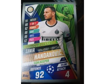 Match Attax 101 2019/2020 HANDANOVIC Shutout Superstar 3