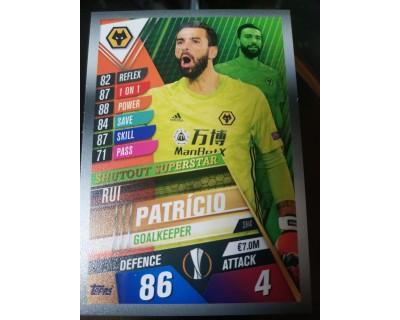 Match Attax 101 2019/2020 PATRICIO Shutout Superstar 4